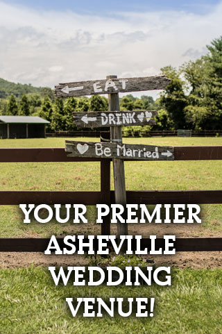 Premier Asheville Wedding Venue