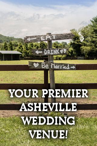 Premier Asheville Wedding Venue