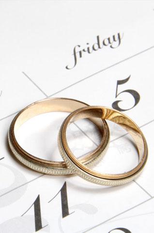 choosing a wedding date
